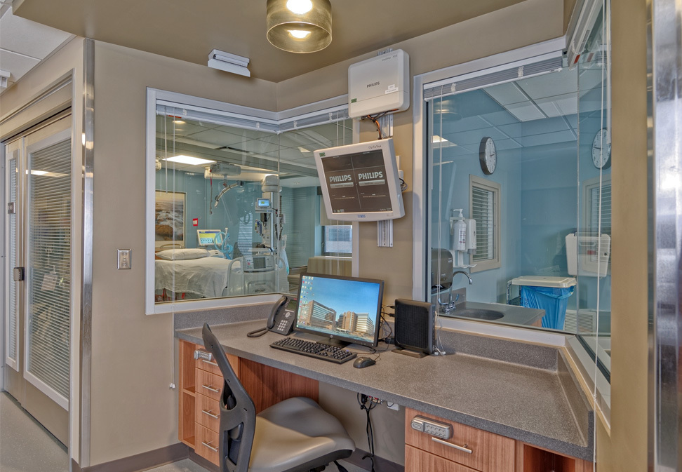 Construction for Intensive Care Unit in Wake Forest