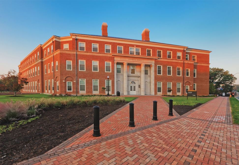 Farrell Hall Wake Forest University