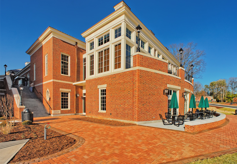 North Campus Dining Hall construction at Wake Forest by FL Blum