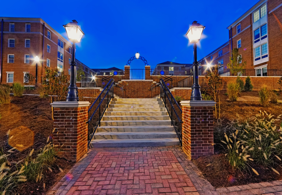 Wake Forest Magnolia & Dogwood Residence Halls Project Photo
