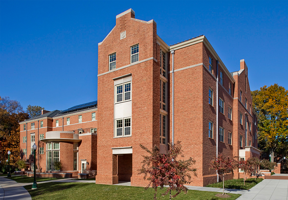 FL Blum construction project South Hall at Wake Forest University