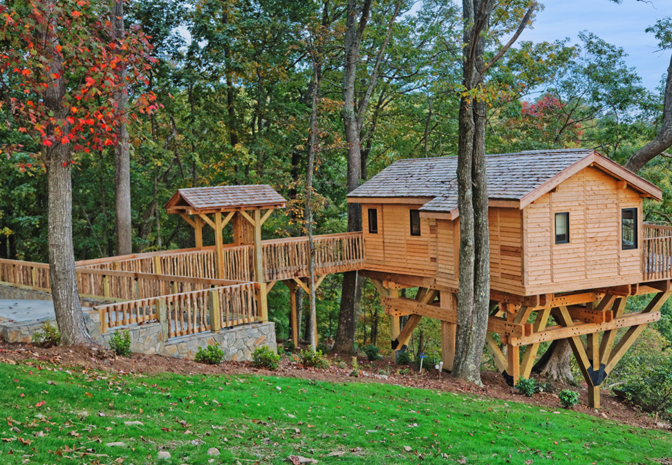 Primland Resort Tree Houses