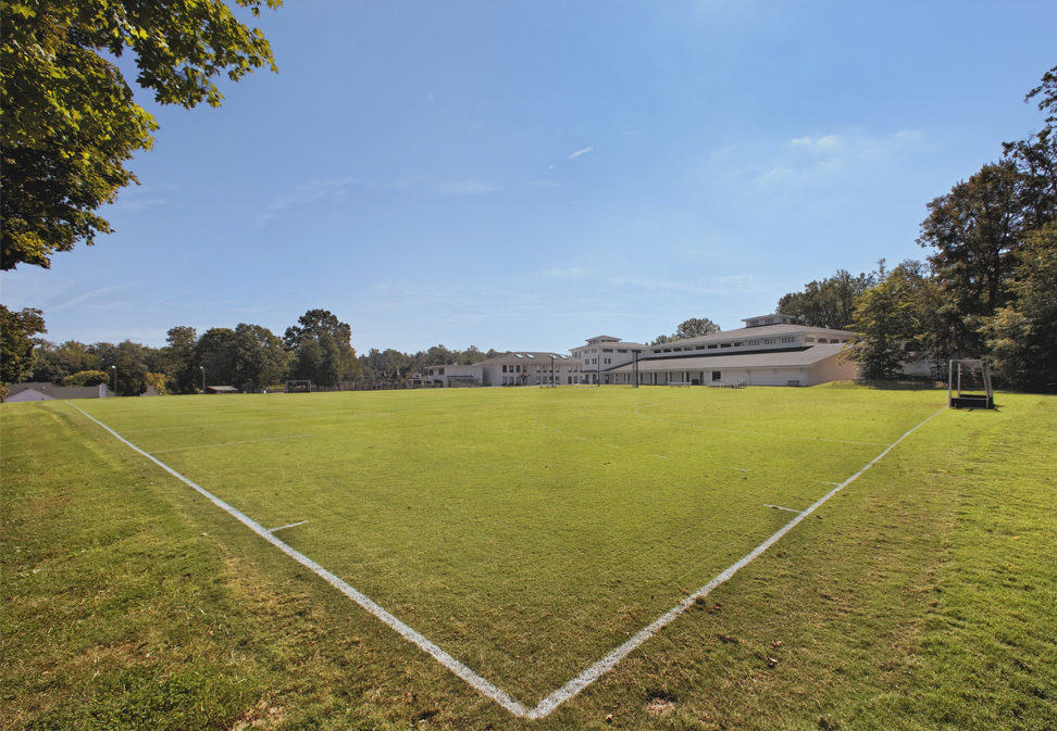 FL Blum construction Athletic Fields project at Summit School
