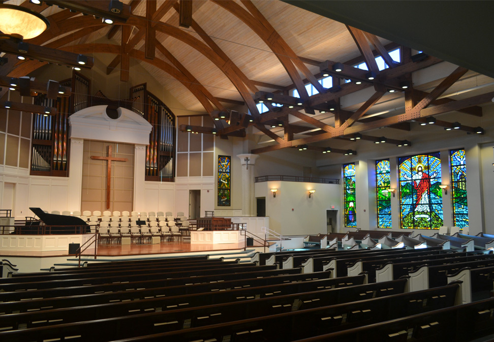 FL Blum Construction Ardmore Baptist Church Sanctuary