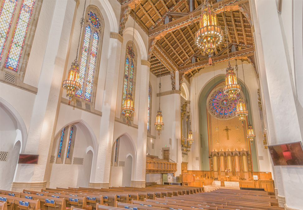 Sanctuary and Smith Buildings Renovation for First Presbyterian Church of Greensboro