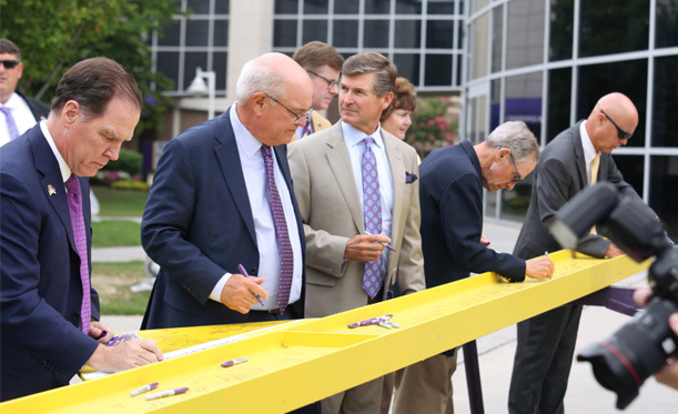 Dowdy-Ficklen Stadium Topping Out