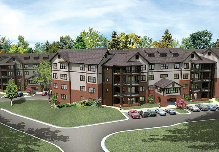 Salemtowne Retirement Community, Phase Three Independent Living (Woodland Apartments)