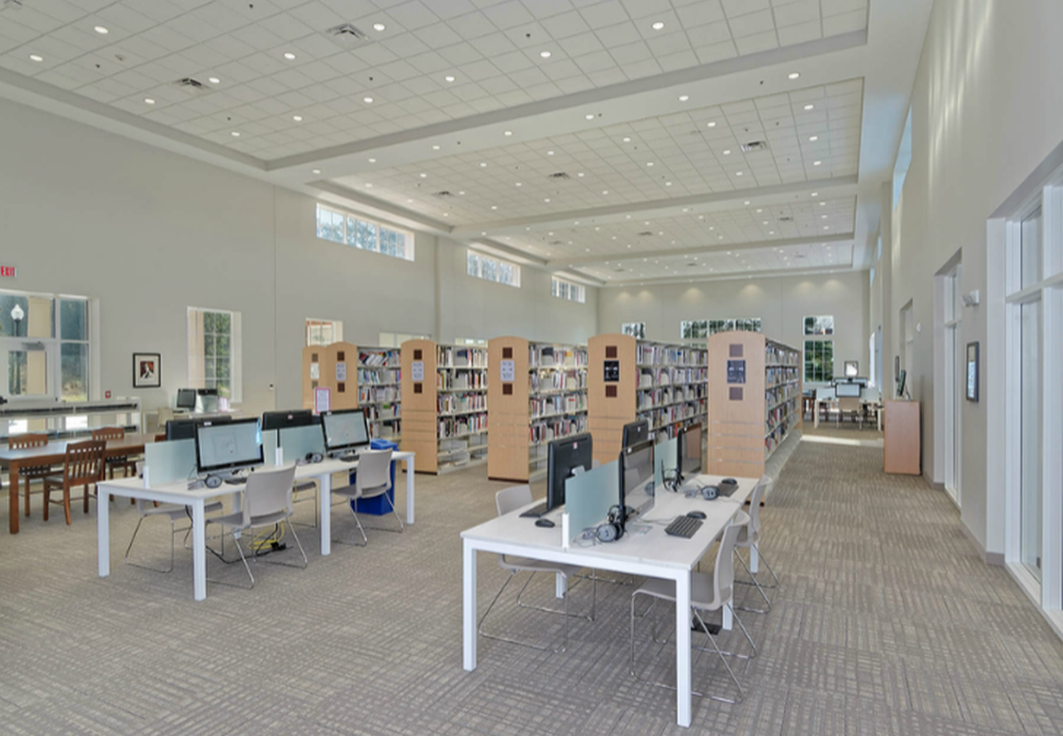 Paddison Memorial Branch Library, Blum Construction
