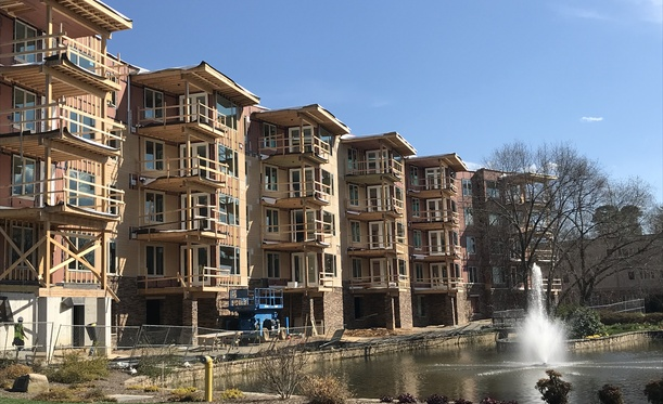 Construction Progress At Carolina Village