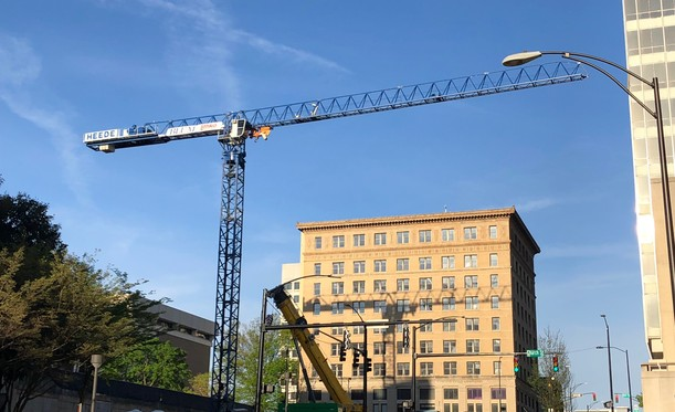 8 West Third Parking Deck Reaches New Heights