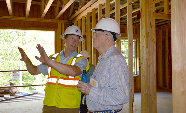 Blum Welcomes Future Residents For Tours Of Salemtowne Retirement Community