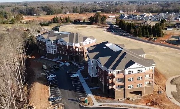 New Construction is Nearing Completion for River Landing at Sandy Ridge