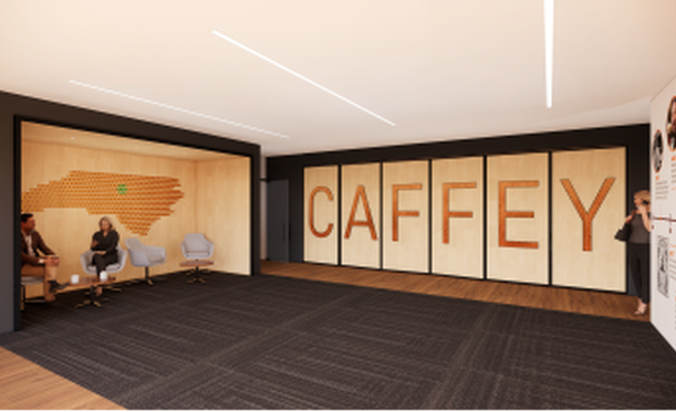 Renovations and Addition at Caffey Distributing underway
